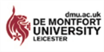 Logo for De Montfort University